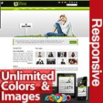 Athena Lawn Green - Unlimited Colors, Images, Layouts - 5 Free Responsive Modules - Responsive Skin